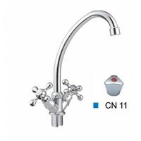 Смеситель CRON для кухни с двумя маховиками гайка CN4011-2