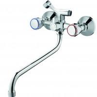 Смеситель ZOLLEN WOLFSBURG (арт. WO62420441) для ванны н/излив 300 мм с аксес.