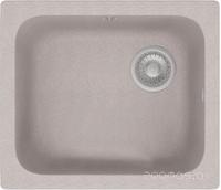 "Кухонная мойка ""Polygran"" F-17 №14 (430х500) квадратная (серый)"