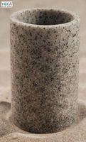 "Стакан из полимера в ванную ""GREY STONE"" Арт.J.GY.KUB"