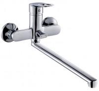 Смеситель ZOLLEN BONN (арт. BO62610241) для ванны нижний излив 350 мм с аксес.